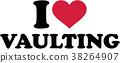 I love Horse Vaulting 38264907