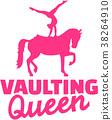 Horse Vaulting queen 38264910