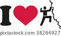 I love climbing icon 38264927