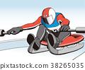 雪撬 滑雪板 滑雪 38265035