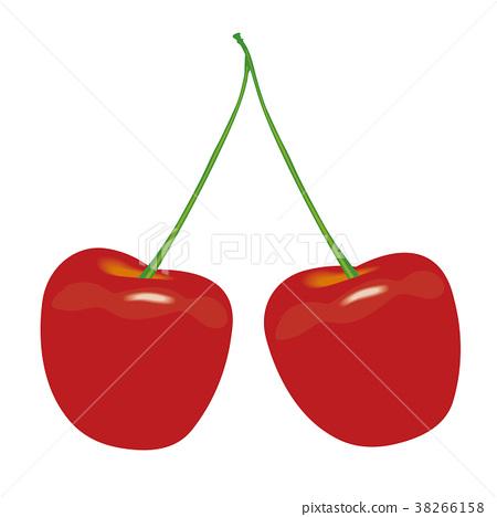 水果 矢量 樱桃 38266158