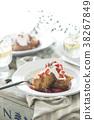 สตรอเบอร์รี่ขนมปังฝรั่งเศส 38267849