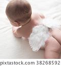 baby, infant, angel 38268592