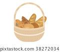 Bread illustration 38272034