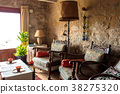 living room in a rural house 38275320