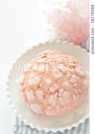 Persimmon melon bread 38276088