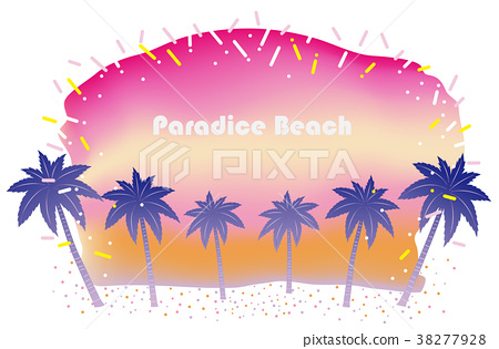 Beach resort background 38277928