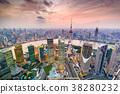 Shanghai, China Cityscape 38280232
