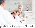노인 부부 식사 38280503