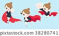 女企業家 女性白領 女商人 38280741