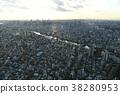 隅田川 東京 城市風光 38280953