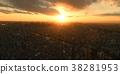 日落 夕陽 晚霞 38281953