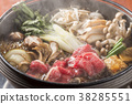 Celebration with sukiyaki 38285551
