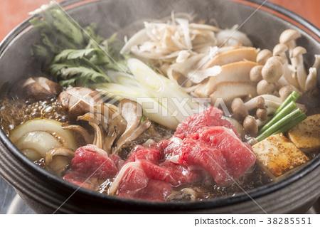 Celebration with sukiyaki 38285551
