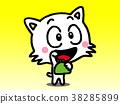 คอมพิวเตอร์กราฟฟิค,แมว,สัตว์ 38285899