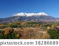 신슈 기소 九蔵 패스보다 만추의 御 嶽山 () 서민의 신앙을 모으는 산악 신앙의 산 38286689