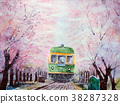 enoshima electric railway, flower train, shonan 38287328