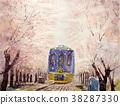 벚꽃, 철도, 교통 38287330