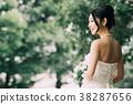웨딩, 결혼식, 웨딩 드레스 38287656