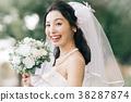 웨딩 드레스 여성 신부 신부 38287874
