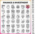 Finance & Investment concept line icon 38288698