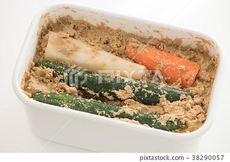 糠漬泡菜 醃製 鹹菜 38290057
