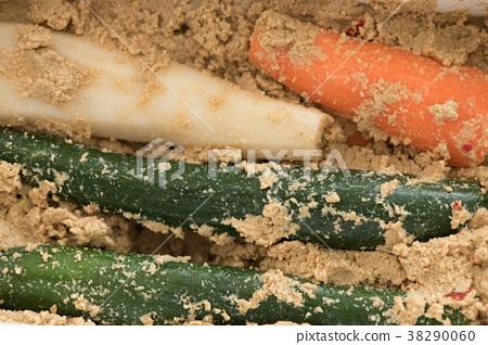 糠漬泡菜 醃製 鹹菜 38290060