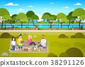 park people vector 38291126