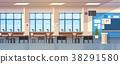 Class Room Interior Empty School Classroom With 38291580