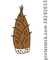bamboo shoot, bamboo shoots, bamboo 38292633