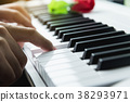 钢琴 手 键盘 38293971