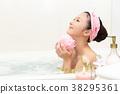 一個年輕成年女性 女生 女孩 38295361