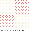 红色和白色李子样式 38295765