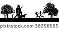 kids dog family 38296095