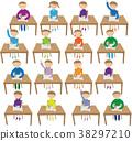 นักเรียนประถม,เด็กผู้หญิง,เด็กผู้ชาย 38297210