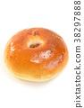 面包 甜豆沙馅的面包 食物 38297888