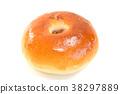 面包 甜豆沙馅的面包 食物 38297889
