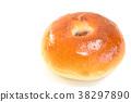 baker, bread, bread filled with sweet bean paste 38297890