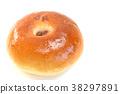 面包 甜豆沙馅的面包 食物 38297891