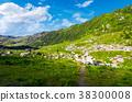 mountain, valley, beautiful 38300008