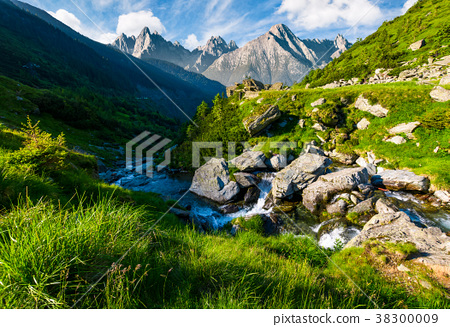 wild stream among the rocks 38300009