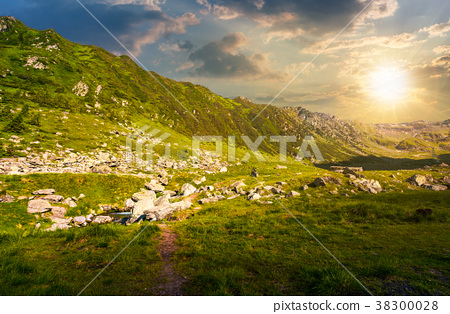beautiful valley of Fagaras mountains 38300028