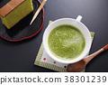 抹茶拿鐵 日本茶 抹茶 38301239