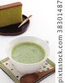 抹茶拿鐵 日本茶 抹茶 38301487
