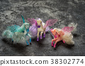 three pegasus horse toys 38302774
