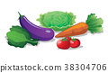 Fresh vegetables are healthy. 38304706