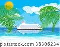 向量 向量圖 海灘 38306234