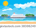 向量 向量圖 海灘 38306240