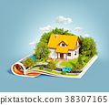 book, building, house 38307165