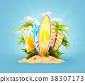衝浪 海浪 旅行 38307173